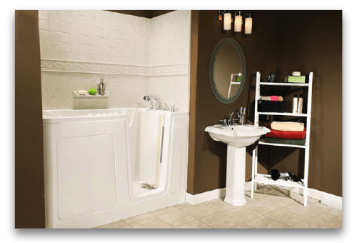 yur bath-tubz plus-Walk-In-Tub-with-Acrylic-Surround